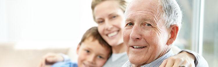 семья пожилой человек