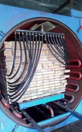 барокамера промышленная сушка древесины