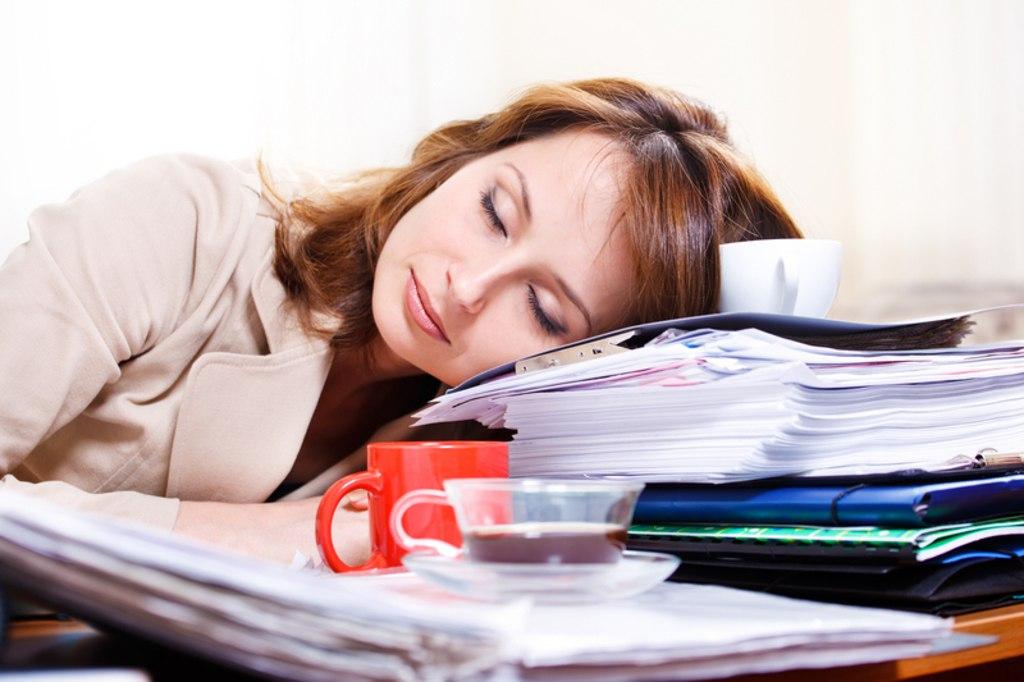 усталость на рабочем месте