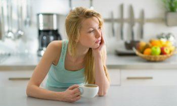 усталость чашка кофе